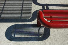 Jan Geisen photography, bench and shadow photo