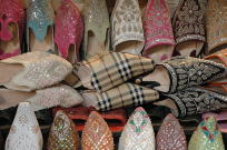 Jan Geisen photography morocco suk Marrakesh shoes