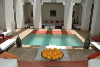 Jan Geisen photography Marrakesh Morocco Riad al Jazira interior photograph