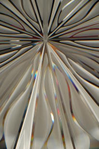 Jan Geisen photography - Christopher Ries Bouquet of Light crystal sculpture